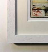 Kunstdruck - Passepartout und Rahmen