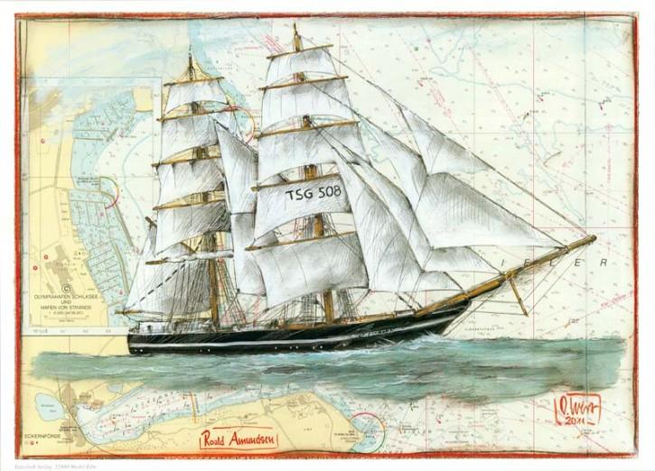"Kunstdruck ""Roald Amundsen"""