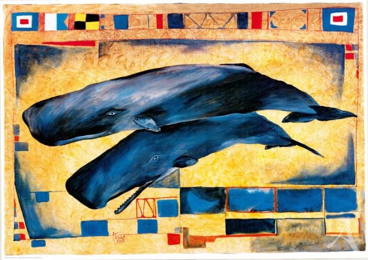 """Kunstdruck """"Wale"""""""