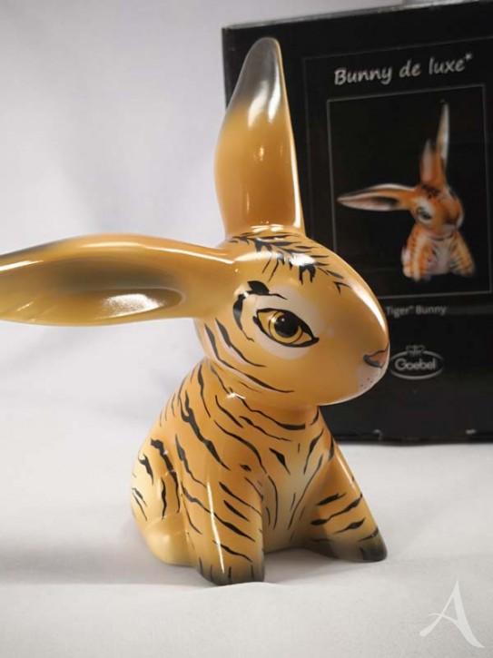 """Bunny de Luxe - """"TIGER"""" - Porzellanobjekt von goebel"""