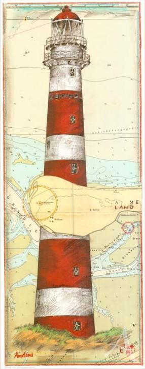 "Kunstdruck ""Ameland, NL"""