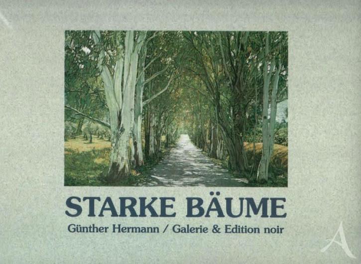 "Buch, ""Starke Bäume"", Günther Hermann HANDSIGNIERT!"