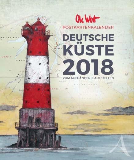 Der neue POSTKARTENKALENDER von OLE WEST für 2018