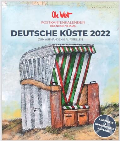 OLE WEST - Postkartenkalender für 2022 - LIMITIERT !!! mit 13 Postkarten!