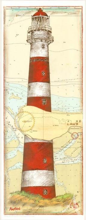 "Kunstdruck ""Ameland / Niederlande"""