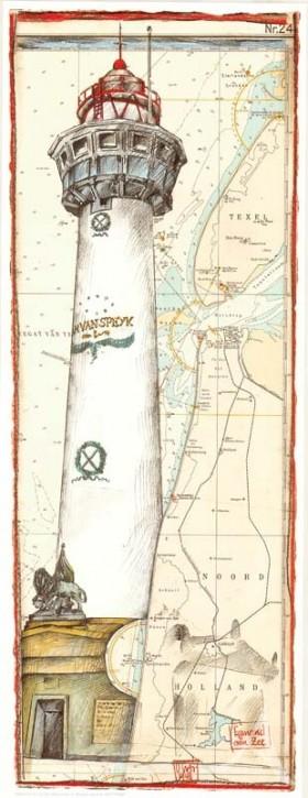 """Kunstdruck """"Egmond aan Zee / Niederlande"""""""