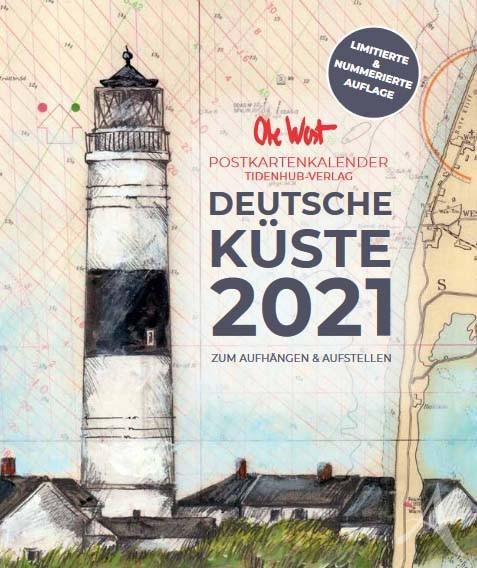 OLE WEST - Postkartenkalender für 2021 - LIMITIERT !!! mit 13 Postkarten!