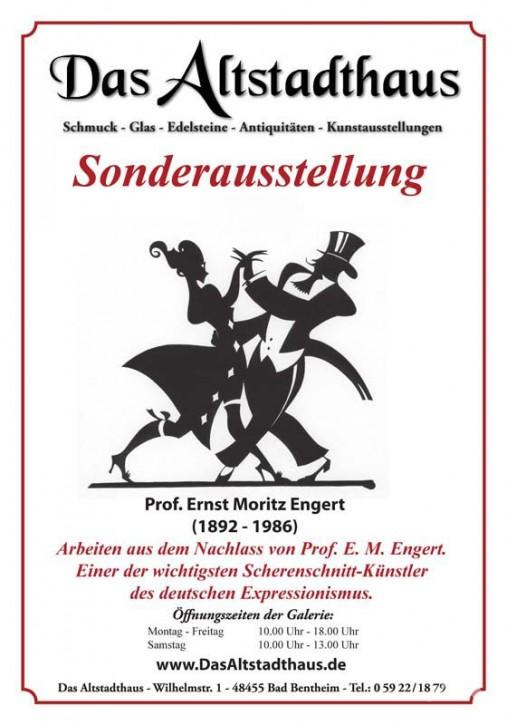 ERNST MORITZ ENGERT  Ausstellungsplakat