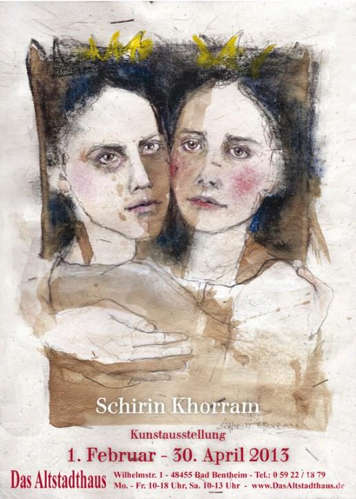 SCHIRIN KHORRAM  Ausstellungsplakat