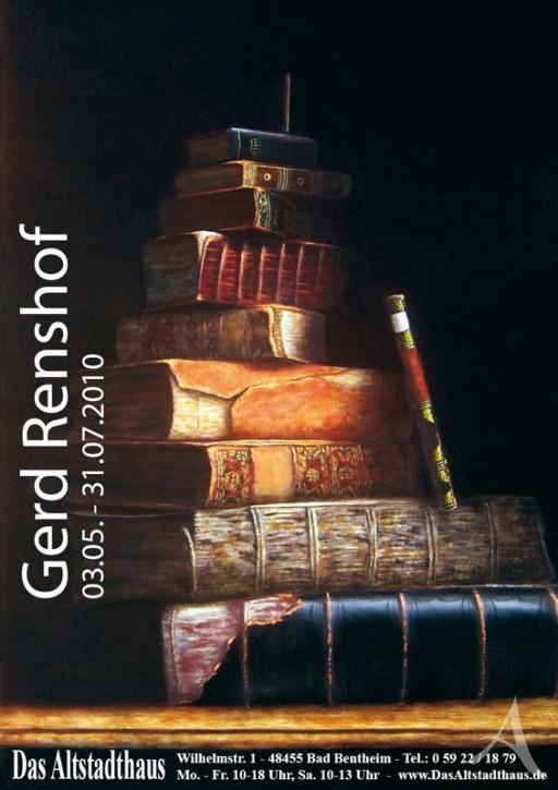 GERD RENSHOF  Ausstellungsplakat