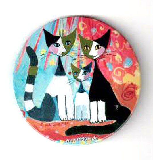 """Taschenspiegel """"We want to be together"""", Rosina Wachtmeister"""