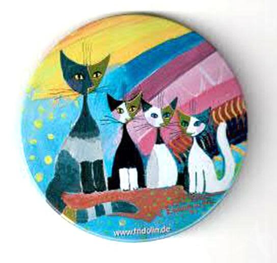 """Taschenspiegel """"Under the rainbow"""", Rosina Wachtmeister"""