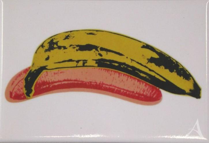 """Magnet """"Banana"""" , Andy Warhol"""
