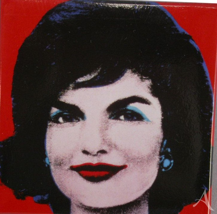 "Magnet ""Jackie (on red)"" , Andy Warhol"