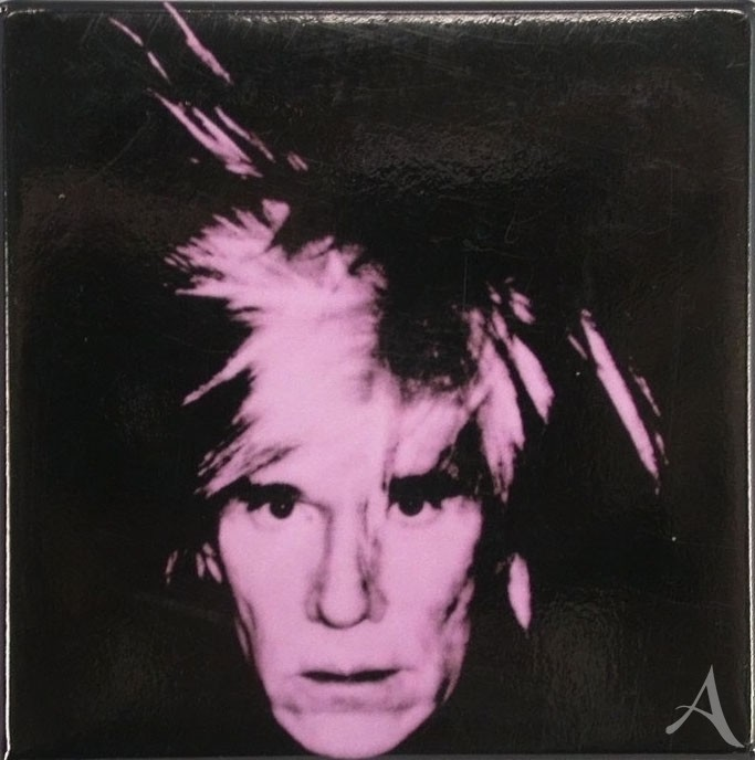 "Magnet ""Self- Portrait"" , Andy Warhol"