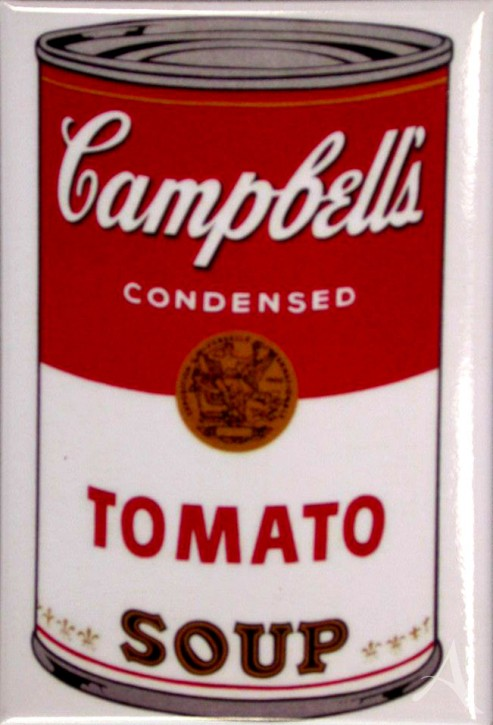 "Magnet ""Campbell´s Soup I (Tomato)"" , Andy Warhol"