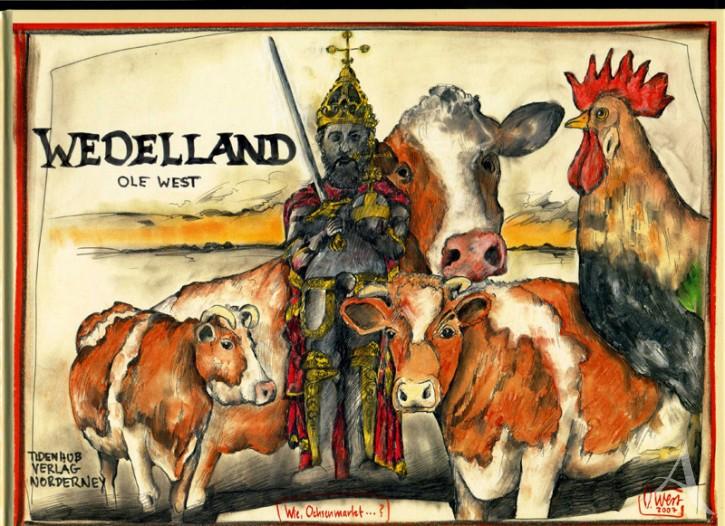 """""""Wedelland"""" - Ein Buch von OLE WEST - NUR NOCH WENIGE EXEMPLARE !"""