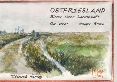 """""""Ostfriesland"""" - Buch von OLE WEST HANDSIGNIERT"""