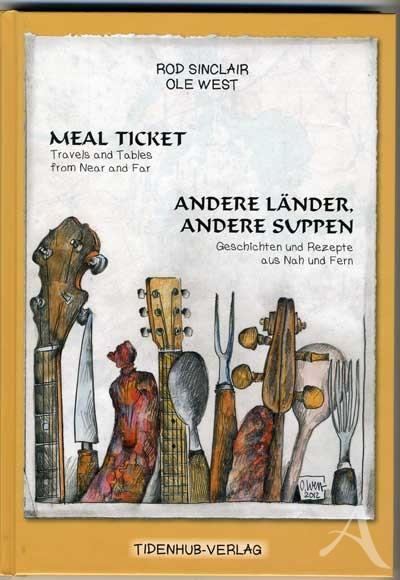 """Buch von OLE WEST - """"MEAL TICKET"""""""