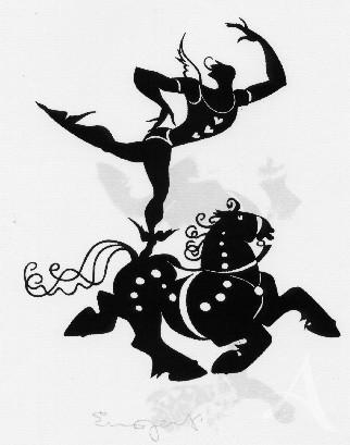 """""""Hermes"""" - Handsigniert"""