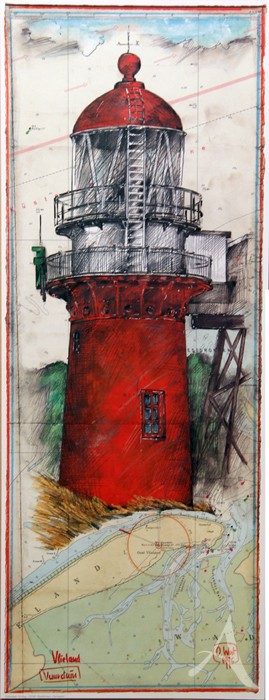 "Kunstdruck ""Vlieland, NL"""