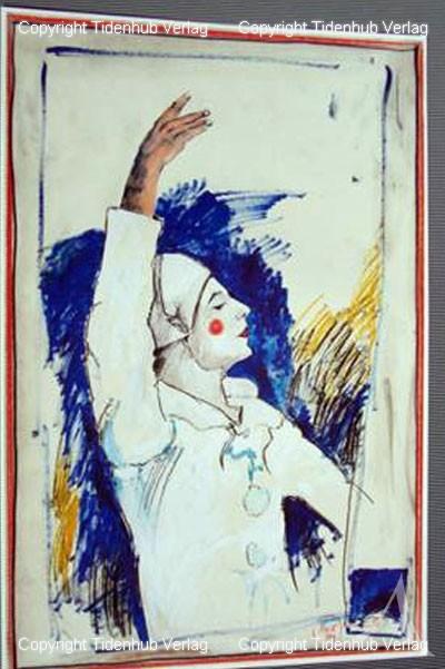 """Kunstdruck """"Pierrot"""""""