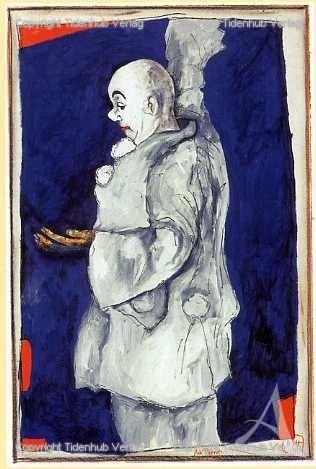 """Kunstdruck """"Ach, Pierrot"""""""