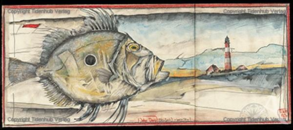 """Kunstdruck """"Peterfisch"""""""
