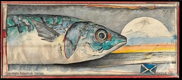 """Kunstdruck """"MakrelenMorgen"""""""