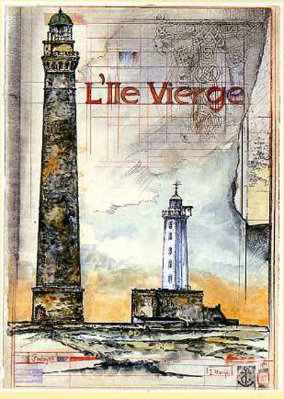 """Kunstdruck """"L`lle Vierge"""""""