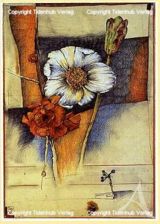 """Kunstdruck """"...wieder Blumen"""""""