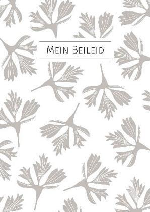 """Trauerkarte """"Mein Beileid"""""""
