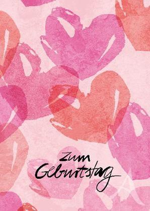 "Doppelkarte ""Zum Geburtstag"""