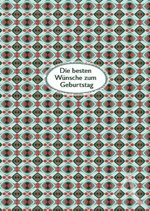 """Doppelkarte """"Die besten Wünsche zum Geburtstag"""""""