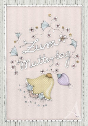 """Doppelkarte """"Zum Muttertag"""""""