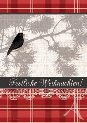 """Doppelkarte """"Festliche Weihnachten!"""""""