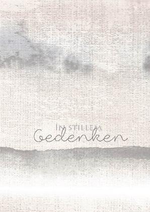 """Trauerkarte """"In stillem Gedenken"""""""