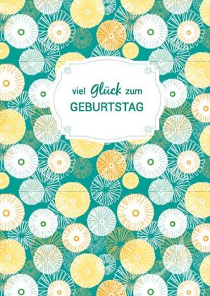 """Doppelkarte """"Viel Glück zum Geburtstag"""""""