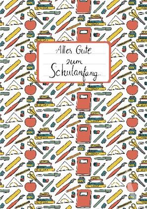 """Doppelkarte """"Alles Gute zum Schulanfang"""""""