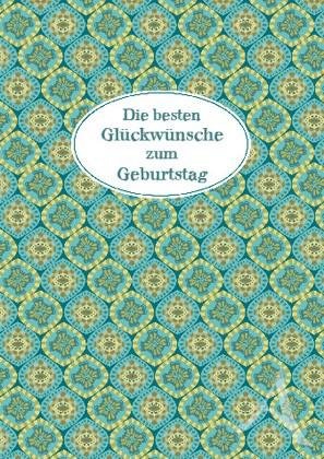 """Doppelkarte """"Die besten Glückünsche zum Geburtstag"""""""