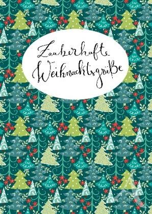 """Doppelkarte """"Zauberhafte Weihnachtsgrüße"""""""
