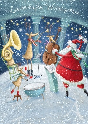 "Doppelkarte ""Zauberhafte Weihnachten"""