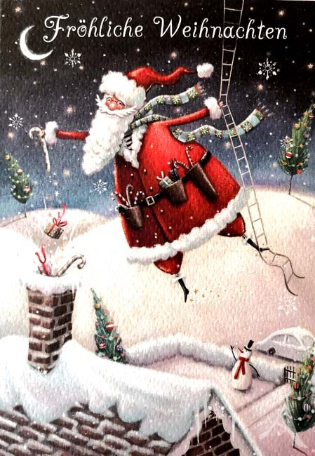 """Doppelkarte """"Fröhliche Weihnachten"""""""