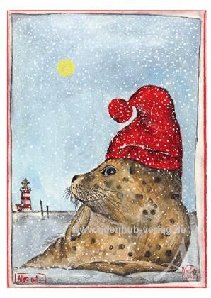 """Weihnachts-DOPPELKARTE """"Alles gut..."""""""