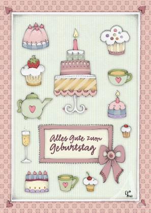 """Postkarte """"Alles Gute zum Geburtstag"""""""