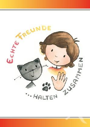 Charity-Postkarte von Juliane Zinnemann