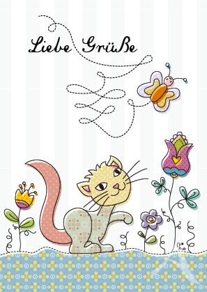 Charity-Postkarte von Mo Büdinger
