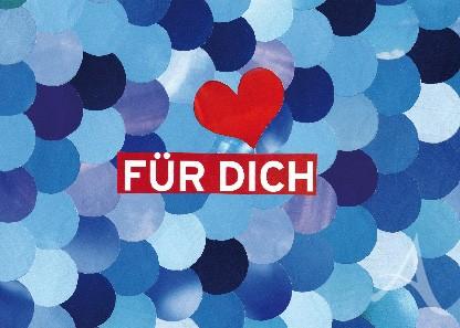 """Postkarte """"Für Dich"""""""