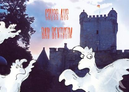 "Postkarte ""Gruss aus Bad Bentheim"""