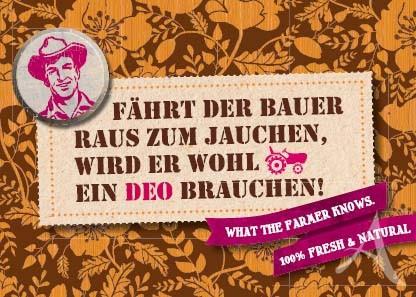 """Farmer-Serie - Postkarte """"Fährt der Bauer raus zum Jauchen..."""""""